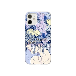 Flower girl Clear smartphone cases