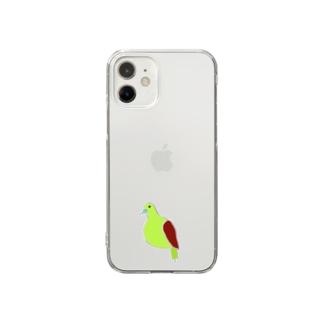 アオバト Clear smartphone cases