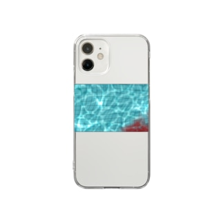 溺れる Clear smartphone cases