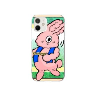 杉並林の野ウサギちゃん mcc-No.2 Clear smartphone cases