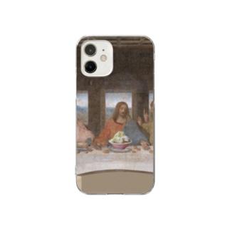 最後の晩餐(ドカ盛りラーメン) Clear smartphone cases