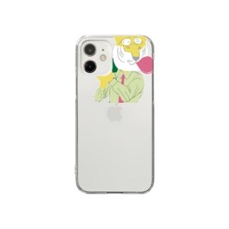 アムトラファイヤー Clear smartphone cases