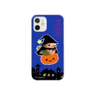 クリアスマホケース ハロウィンB Clear Smartphone Case