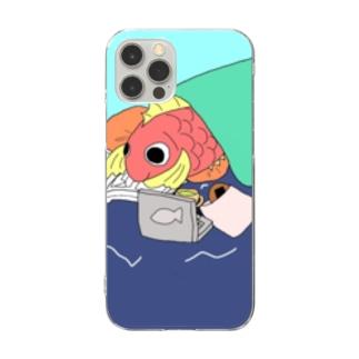 ごろごろし鯛(たい)01(完全版)-ごろ鯛(たい) Clear Smartphone Case