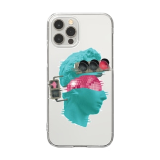 K collage01 Clear smartphone cases