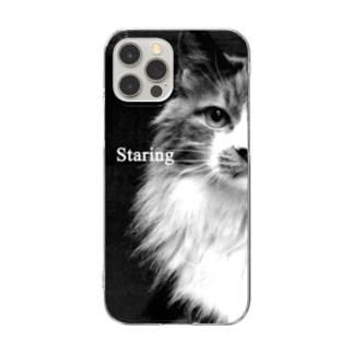 Staring-1 Clear smartphone cases