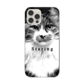 Staring-3 Clear smartphone cases