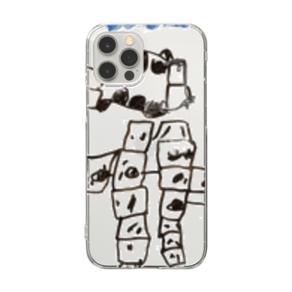 Daughter's drawing 20220307 Clear smartphone cases