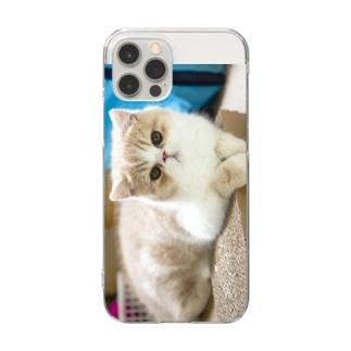 photo-tkのくつろぎちまき君 Clear Smartphone Case