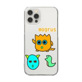 モグケース(mogrus) Clear smartphone cases