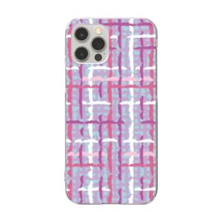 ツイード Clear smartphone cases