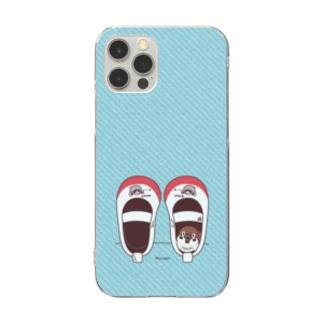 CT165 スズメがちゅん*うわばきちゅんA*スマホケース Clear smartphone cases
