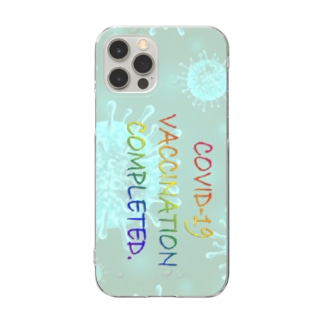 VACCINATION COMPLETED(SC) Clear Smartphone Case