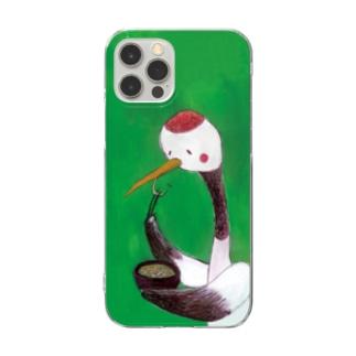 つるっ!_スマホケース Clear smartphone cases