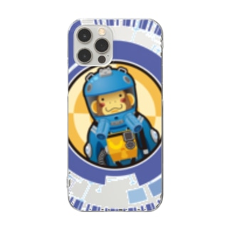SpaceMonkey Clear smartphone cases