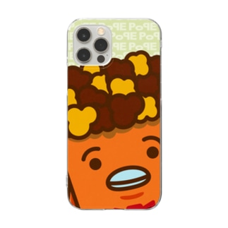 POPE-Caramel- Clear smartphone cases