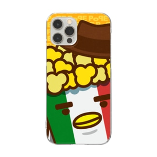 POPE-Cheese- Clear smartphone cases