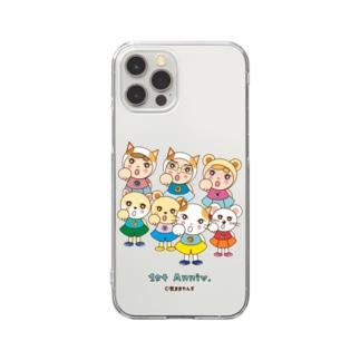 気ままやんず 気合い! 1st Anniv. Clear smartphone cases