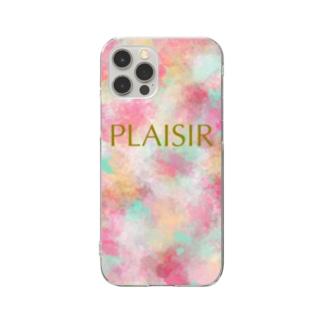 PLAISIR Clear smartphone cases