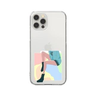 パステルゆかちゃ Clear smartphone cases