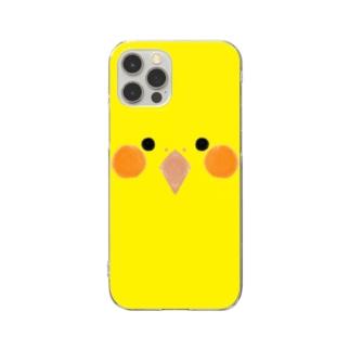 オカメインコさん Clear smartphone cases