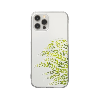 【iPhone12】namida no hana Clear smartphone cases