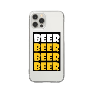 BEER Clear smartphone cases
