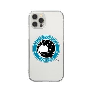 ブルータンコーヒー Clear smartphone cases