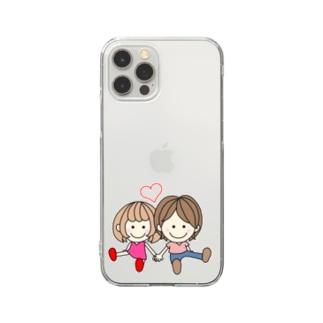 CHAMA×ちょこんと Clear Smartphone Case