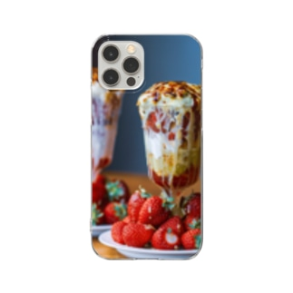 Cobacafeスマホケース Clear smartphone cases