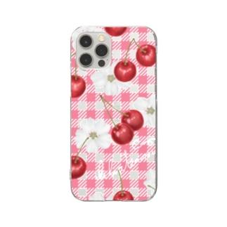 初夏のピクニック Clear smartphone cases