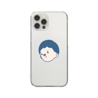 いっしょうけんめいじゃなくていいよ Clear smartphone cases