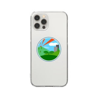 The Planet, iPhone 11, 12シリーズ用 Clear smartphone cases