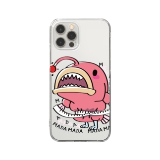 CT114 海の底のあんこ姫*まだまだいける Clear Smartphone Case