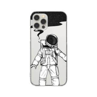 AnotherHeavenの宇宙 Clear smartphone cases