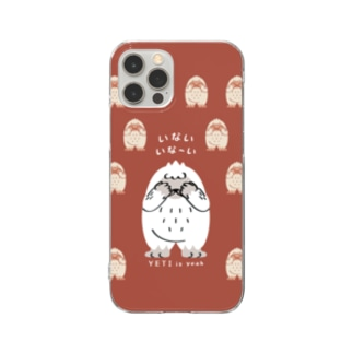 CT121 YETI is yeah*いないいないばぁ*bgC Clear Smartphone Case