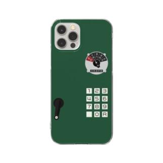 沿線電話(回線切り替えスイッチ、プッシュボタン) Clear smartphone cases