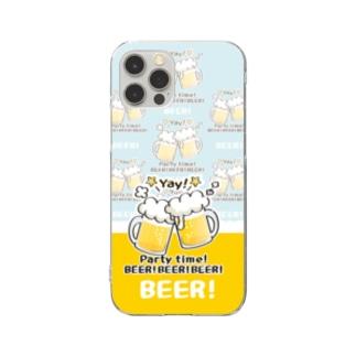 CT125 BEER!BEER!BEER!*C Clear Smartphone Case