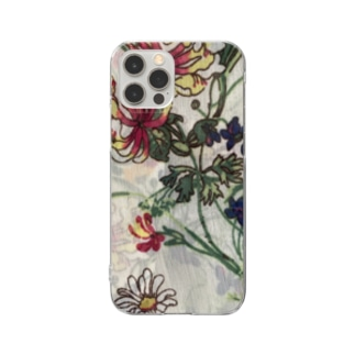 floral phone case Clear smartphone cases