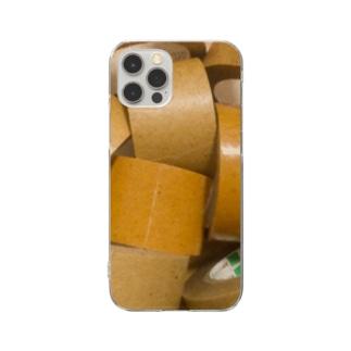 ガムテープ Clear smartphone cases