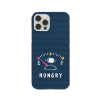 *suzuriDeMONYAAT*のCT141 Hungry gauge Clear Smartphone Case