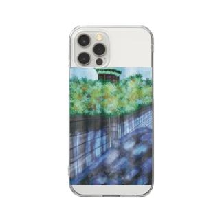 絶景の田舎住宅地2-89-4 Clear smartphone cases