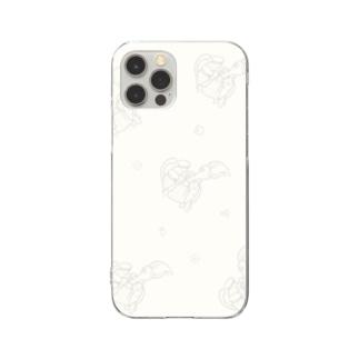 スマホケース じゃぱんわぷー Clear smartphone cases