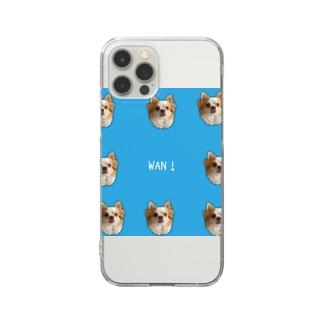 チワワのmocaさん Clear smartphone cases