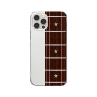 ギターiPhoneケース Clear Smartphone Case