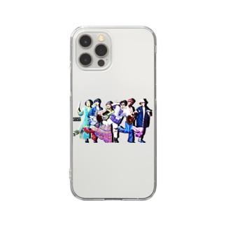 ちょっ。デザイン スマホケース Clear smartphone cases