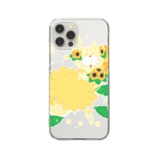 夏だよ!ひまわりの妖精 Clear smartphone cases
