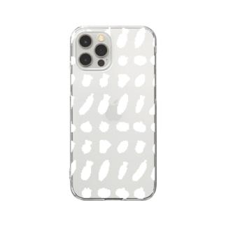 やさいちゃん(白) Clear Smartphone Case