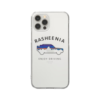 rasheeniaアーチ(フロントプリント) Clear Smartphone Case