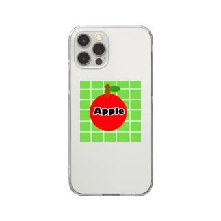 レトロApple Clear Smartphone Case